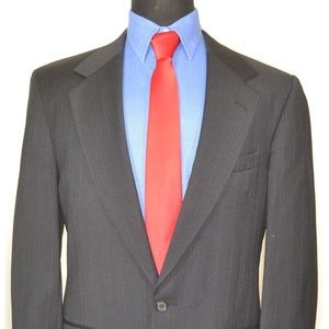 Perry Ellis 40R Sport Coat Blazer Suit Jacket